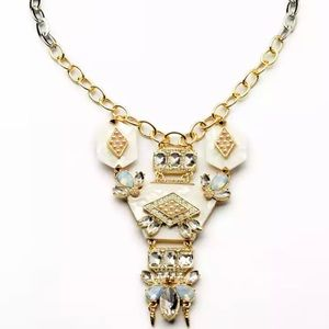 Large ornate statement necklace